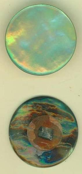 Perlemor 1830-36 grønn