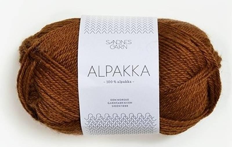 Sandnes Alpakka 2564 Gyllenbrun