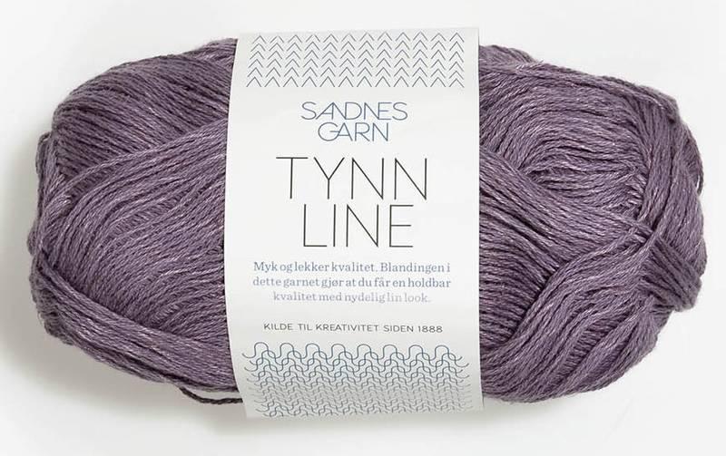 Tynn Line 5052 Støvet Lilla