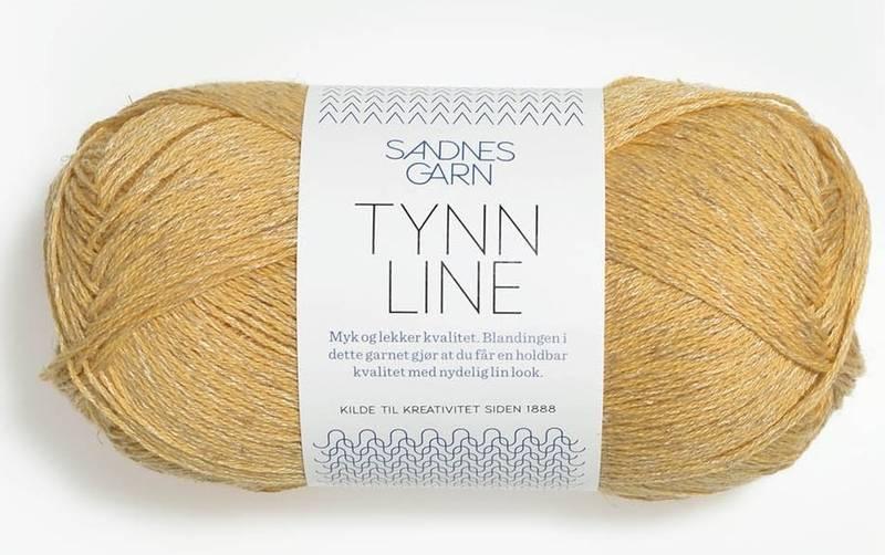Tynn Line 2113 Lys gul
