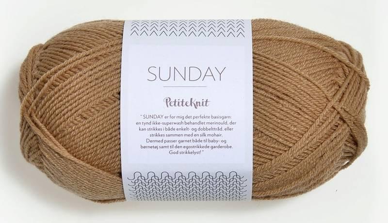 Sunday 2542 Petite Knit Camel