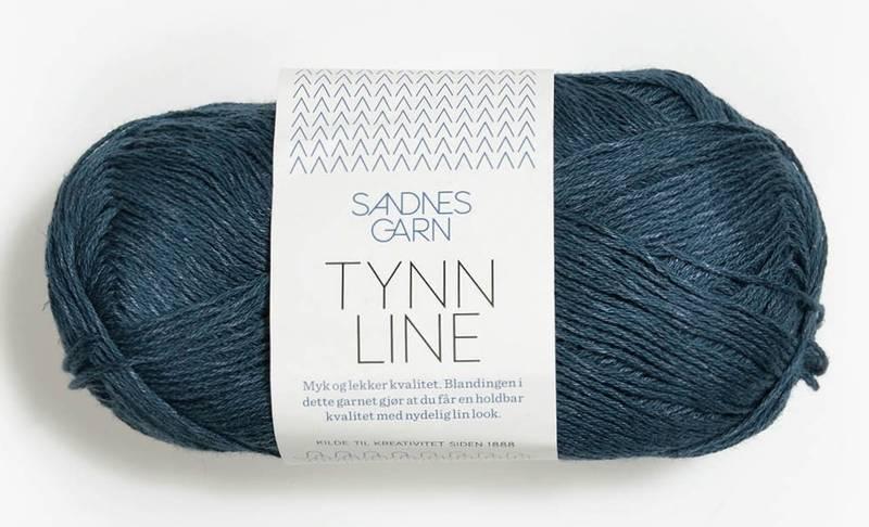Tynn Line 6364 Mørk blå