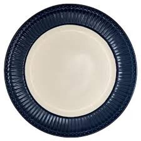 Greengate - Frokosttallerken Alice dark blue