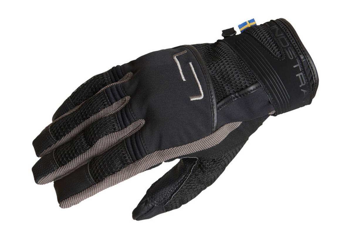 Lindstrands Nyhusan Glove, black/grey