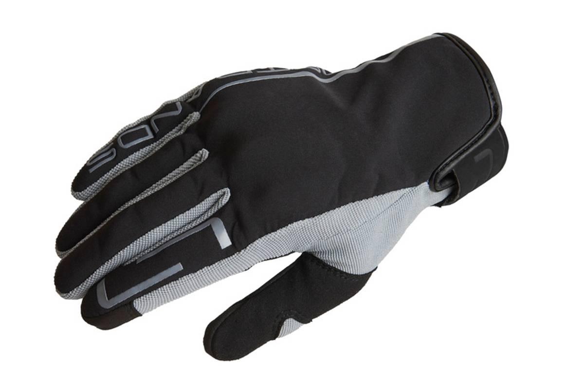 Lindstrands Eke Glove, black/grey