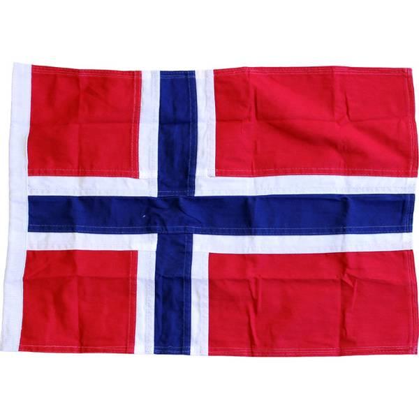 Bilde av Norsk Båtflagg 90cm, Royal bomull