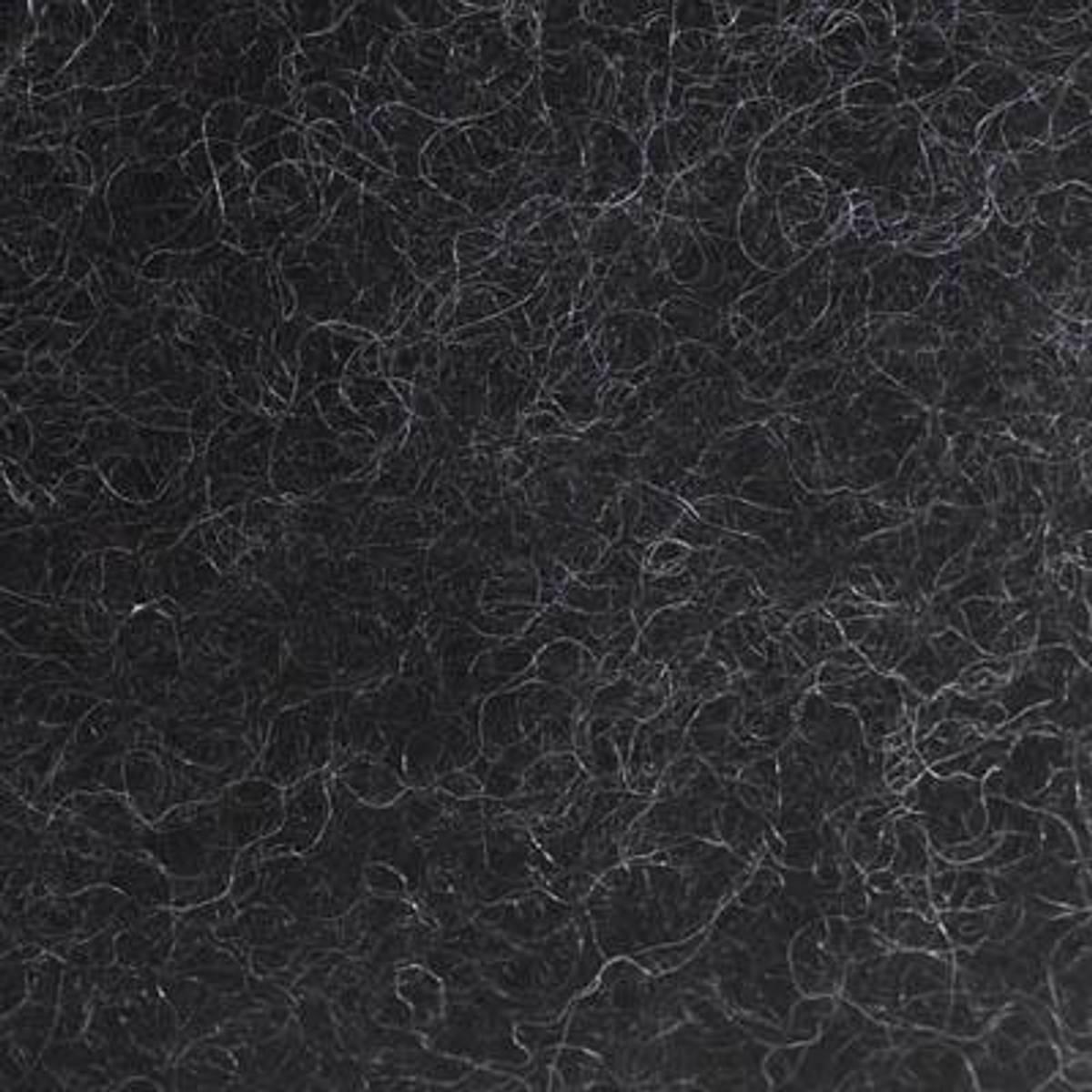 Kardet ull, koksgrå 100g