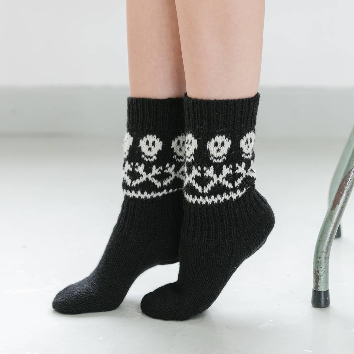 Pirat sokker (Fjord) – oppskrift