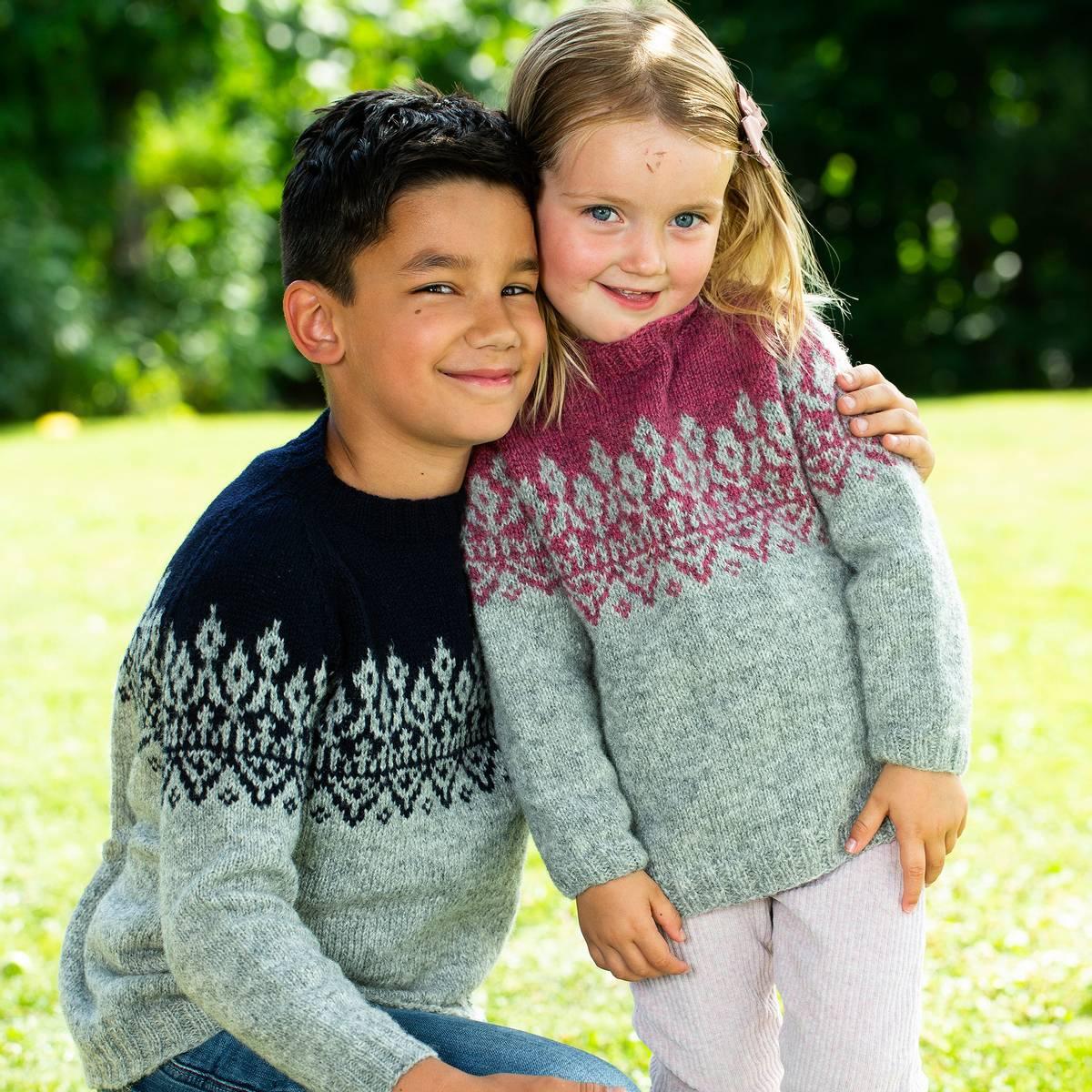 Redd Barna barnegenser (Ask) – oppskrift Arne & Carlos