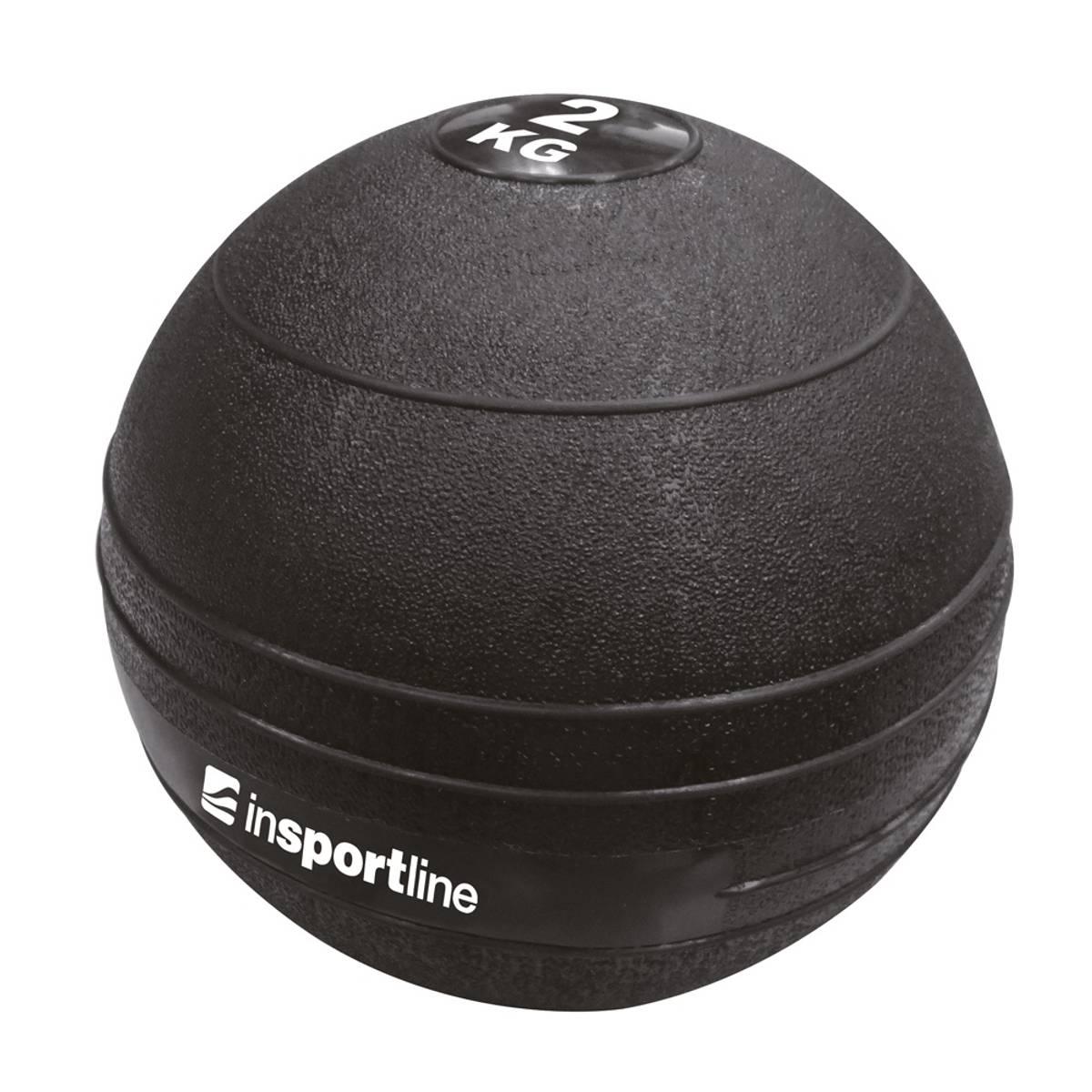 Medisinball  inSPORTline Slam Ball 2 kg