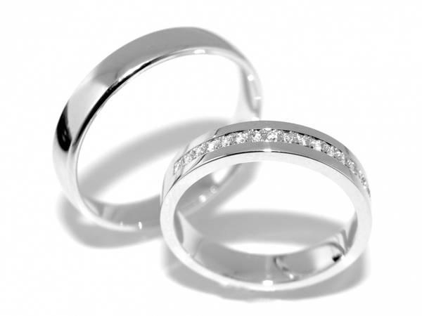 Forlovelsesringer SpesialPris med diamanter 0.17ct
