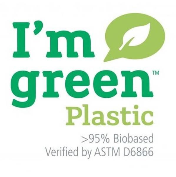 Liten Hinza veske Green plastic Citrongul