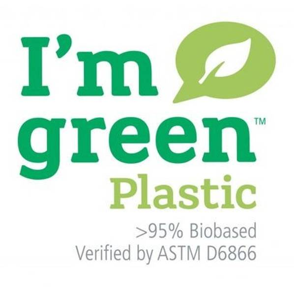 Liten Hinza veske Green plastic Tropikrosa