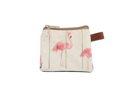 Cosmetic Bag Flamingo 10x8