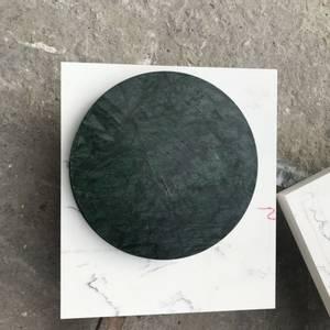 Bilde av Marmorbord i Green Verde med 80 cm diameter