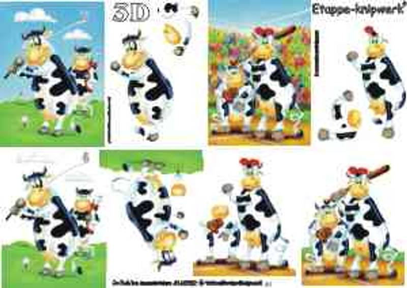 3D ark - Ku Cartoon