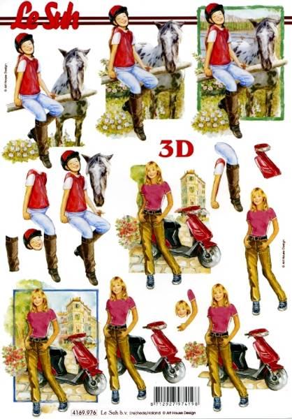 3D ark - Jente