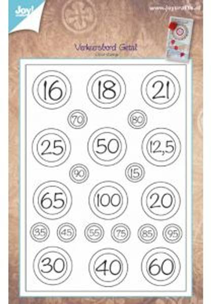 Stamps, Birthday numbers