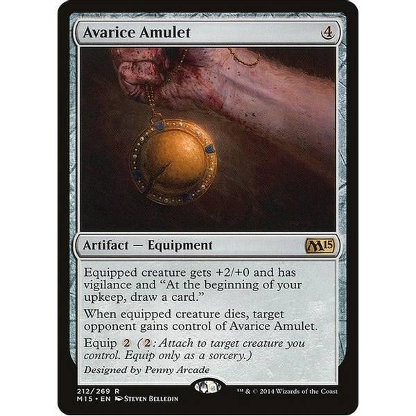 Bilde av Avarice Amulet