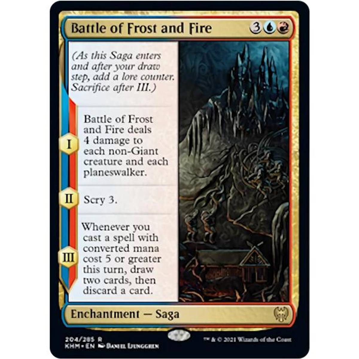 Battle of Frost and Fire