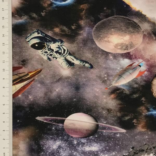 Jersey digital astronaut, romskip og planeter