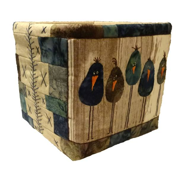 Quilt my Design Fugle Kurv