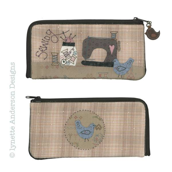 Lynette Anderson Sewing purse