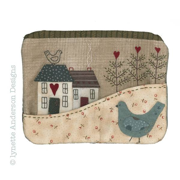 Lynette Anderson Contry cottage purse