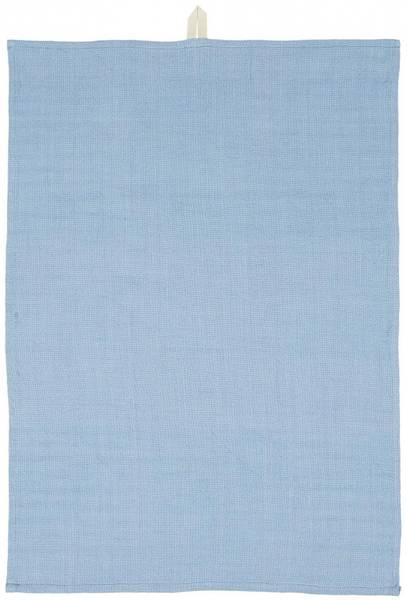Koppehåndkle løst vevd, blå