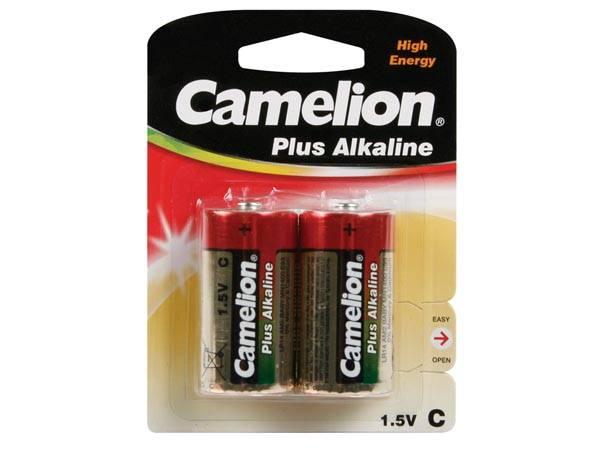 Camelion C cell LR14 batterier 2-pak Plus Alkaline