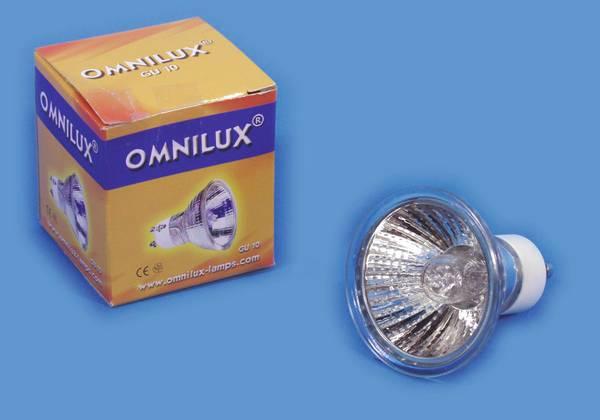 OMNILUX GU-10 230V/75W 1500h 25