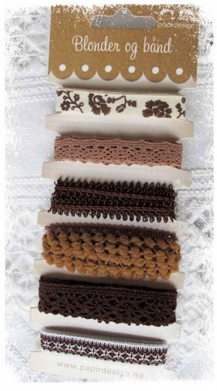 Bilde av Båndpakke brun (6)